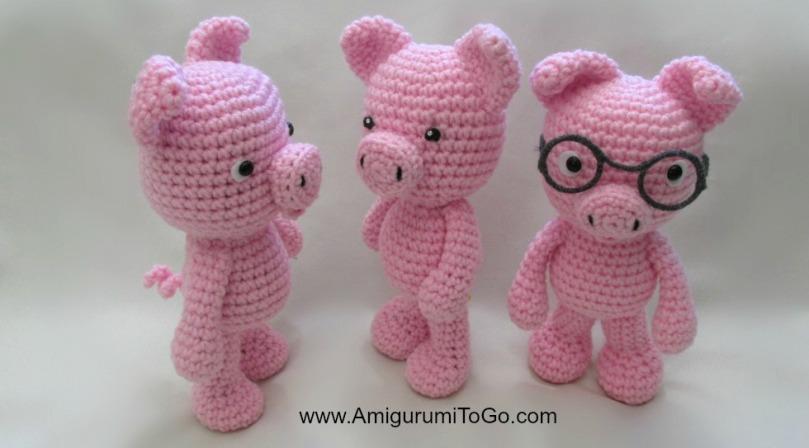amigurumi-pigs